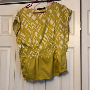 Yellow/green/gold top